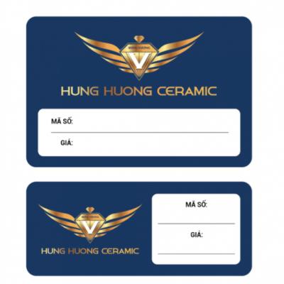 Card visit Hùng Hương - Gạch ốp lát Bắc Ninh