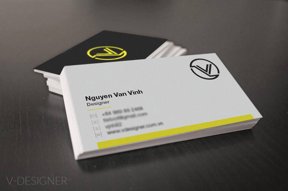 thiết kế card visit  đẹp tại bắc ninh