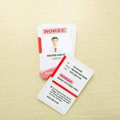 Name Card -Thiết kế mẫu Name Card cho công ty Rorze