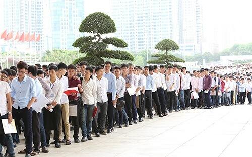 6000 cử nhân tham dự vào cuộc thi tuyển dụng GSAT vào Samsung