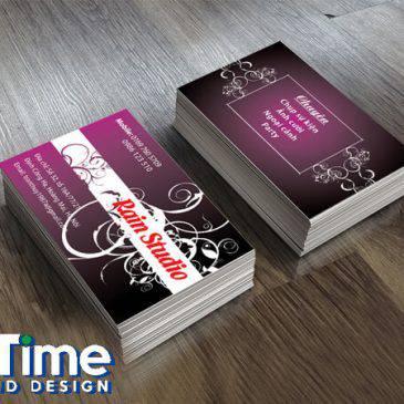 Thiết kế card visit nhanh tại Hà Nội