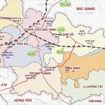 Danh sách các khu công nghiệp tỉnh Bắc Ninh