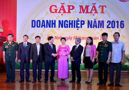 Tỉnh Bắc Ninh tổ chức Gặp mặt doanh nghiệp năm 2016