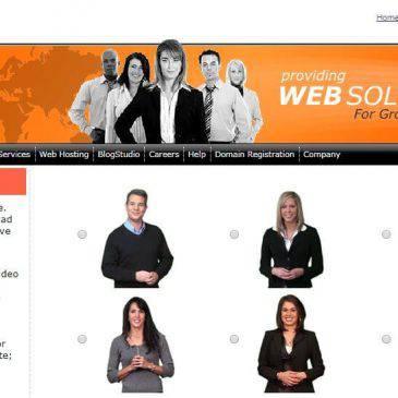 Người phát ngôn cho trang web. Một phong cách website hiện đại.