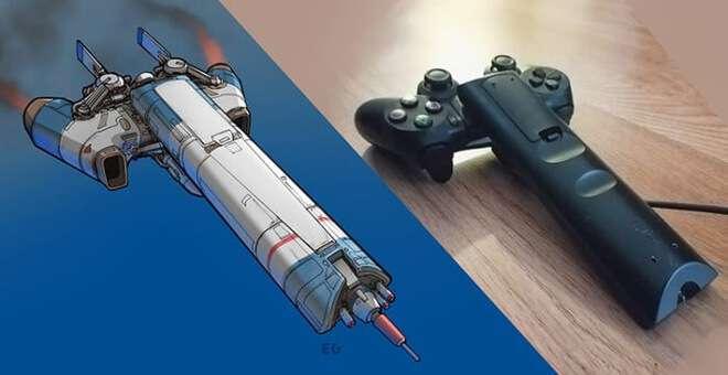 Nghệ sĩ này biến những đồ vật bình thường nhất thành tàu vũ trụ với thiết kế vô cùng ngoạn mục - Ảnh 1.