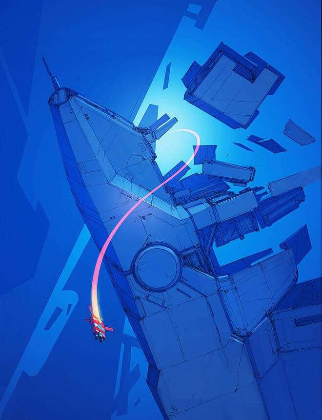Nghệ sĩ này biến những đồ vật bình thường nhất thành tàu vũ trụ với thiết kế vô cùng ngoạn mục - Ảnh 10.