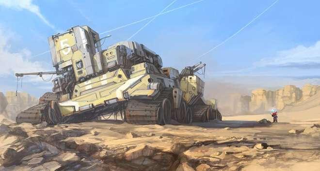 Nghệ sĩ này biến những đồ vật bình thường nhất thành tàu vũ trụ với thiết kế vô cùng ngoạn mục - Ảnh 13.