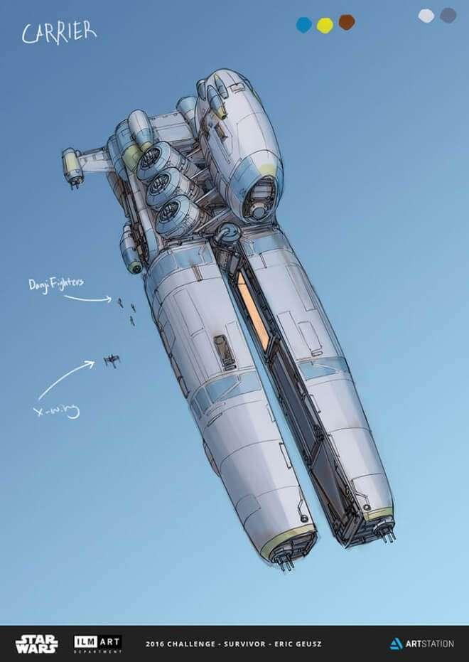 Nghệ sĩ này biến những đồ vật bình thường nhất thành tàu vũ trụ với thiết kế vô cùng ngoạn mục - Ảnh 5.