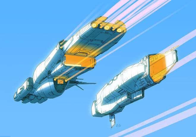 Nghệ sĩ này biến những đồ vật bình thường nhất thành tàu vũ trụ với thiết kế vô cùng ngoạn mục - Ảnh 8.