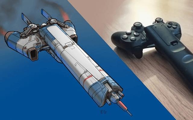 Nghệ sĩ này biến những đồ vật bình thường nhất thành tàu vũ trụ với thiết kế vô cùng ngoạn mục