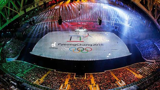 Thế vận hội mùa đông Pyeongchang diễn ra từ 9 – 25.2.2018 tại Gangwon, Hàn Quốc /// AFP