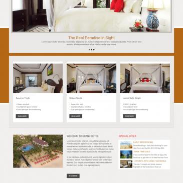 Thế nào là giao diện website khách sạn & resort đẹp?