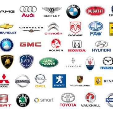 Các mẫu logo xe hơi nổi tiếng