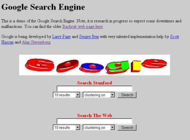 Logo 3D đang là trào lưu lúc đó và Google cũng vậy.