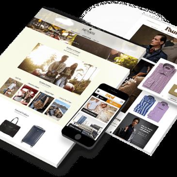 Mẫu website đa ngành nghề, website dịch vụ, giới thiệu, bán hàng