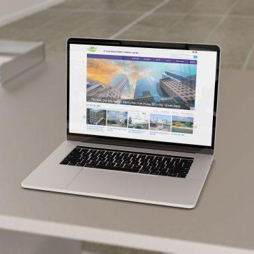 Thiết kế website xây dựng tại  bắc ninh – Công ty Xiyuan