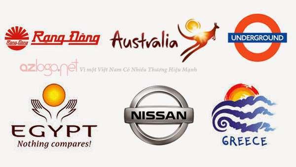 thiết kế logo chuyên nghiệp, hình dạng trong thiết kế logo