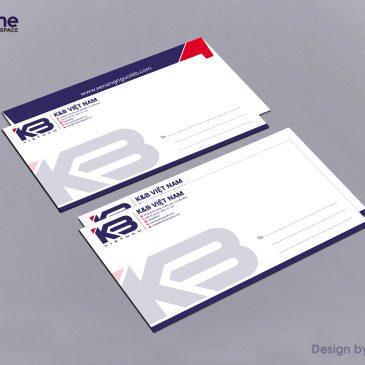 Những lưu ý khi in ấn và thiết kế phong bì thư cho doanh nghiệp