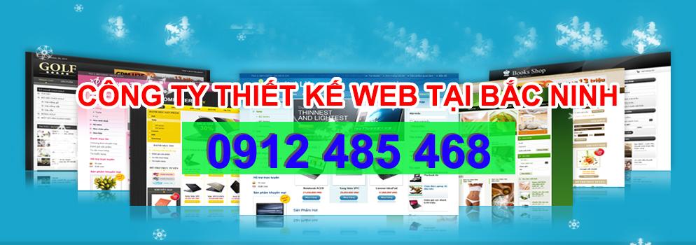 dịch vụ thiết kế website tại bắc ninh uy tín