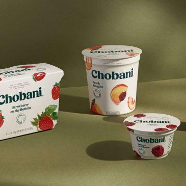 Chobani – hành trình thay đổi diện mạo và giải thưởng Dieline danh giá