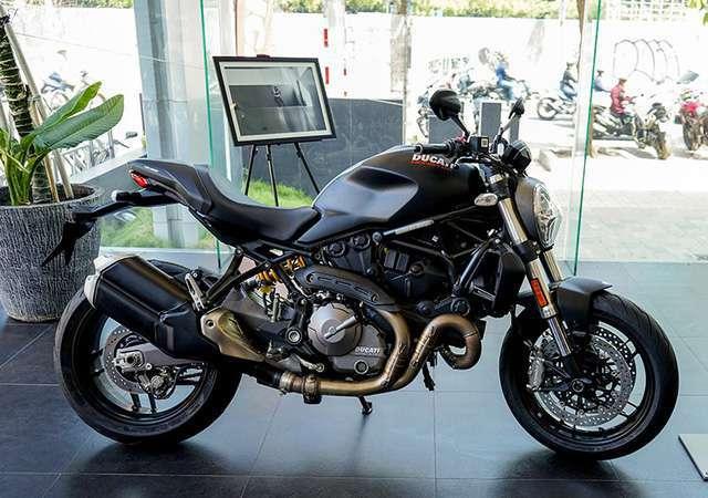 Ducati Monster 821 phiên bản 2018