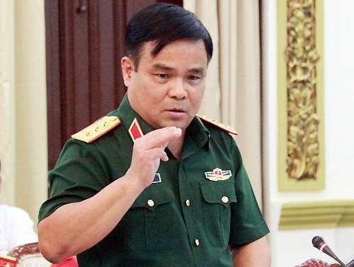 Thứ trưởng Quốc phòng, Thượng tướng Lê Chiêm. Ảnh: PV