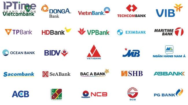 Bộ logo các ngân hàng tại Việt Nam – Vị thế ngân hàng tại Việt Nam thay đổi như thế nào