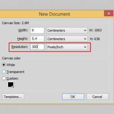 Thiết lập file thiết kế card visit như thế nào cho đúng