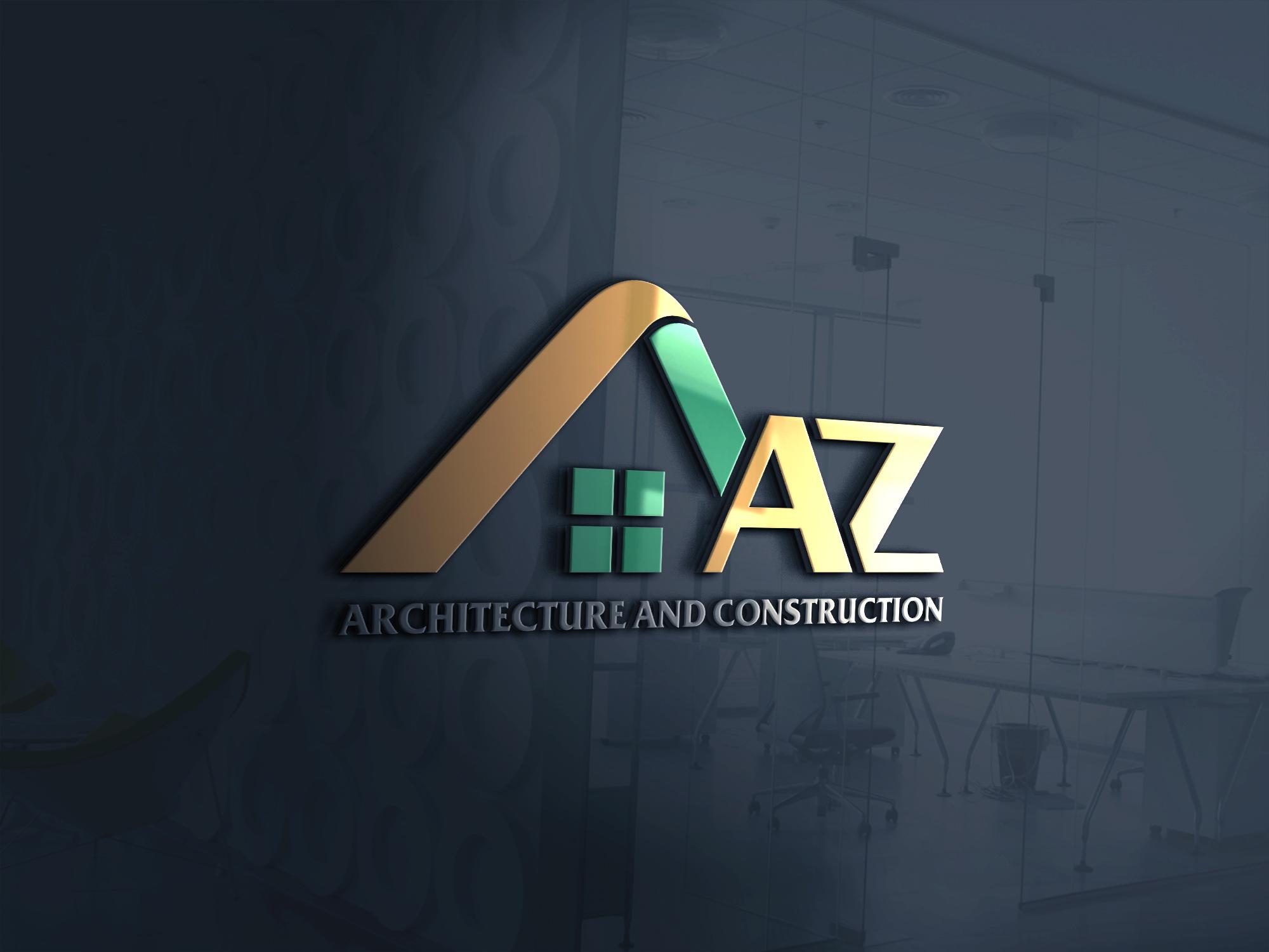 Logo công ty xây dựng AZ