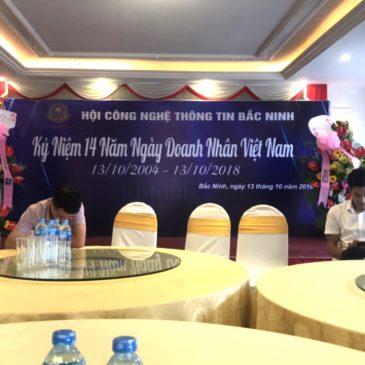 Hội công nghệ thông tin Bắc Ninh chào mừng ngày Doanh nhân Việt nam
