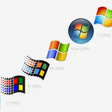 Logo Windows biểu tưởng của sự thay đổi cả nhân loại