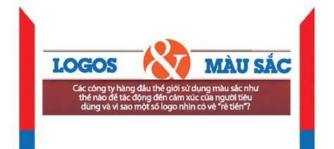 Ý nghĩa màu sắc trong thiết kế logo thương hiệu