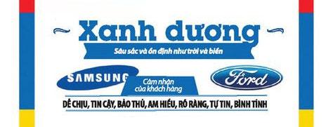 Màu xanh dương trong thiết kế logo