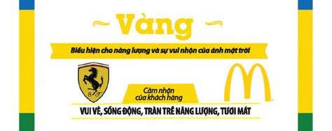 Mẫu logo với thiết kế màu vàng