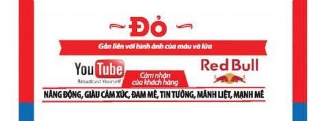 màu đỏ trong thiết kế logo