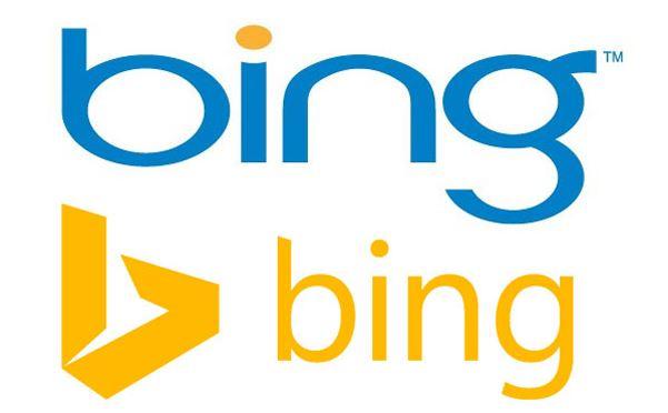 Thiết kế lại logo Bing