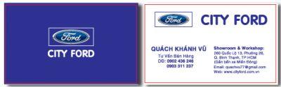261 15 mau name card nhan vien tu van ban hang xe