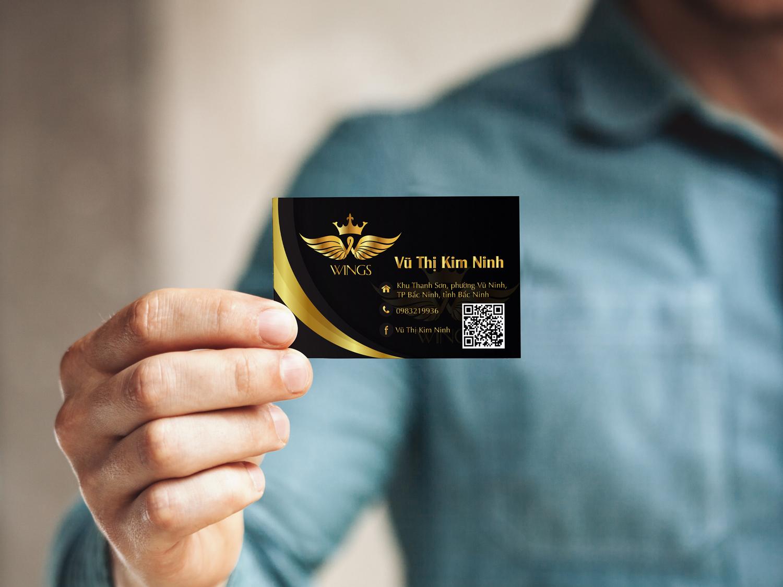 thông tin cần thiết có trong card visit