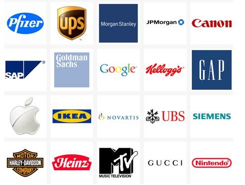 Học hỏi từ cách thiết kế logo của 50 thương hiệu hàng đầu thế giới
