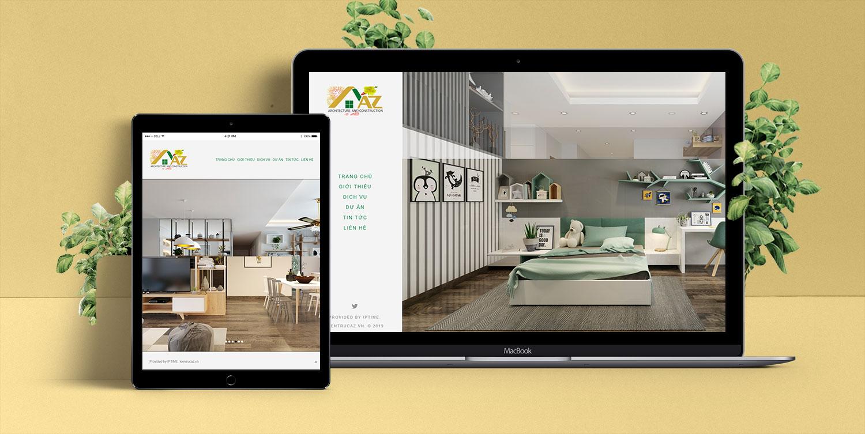 Mẫu website công ty Bắc Ninh Meida