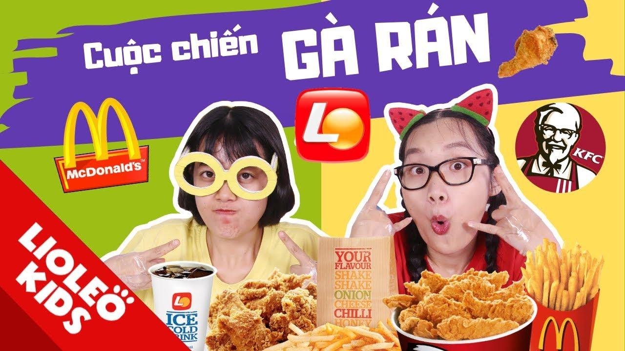 Các thương hiệu đồ ăn Việt Nam đang ở đâu trong cuộc chiến của KFC, Lotteria, McDonald's…?