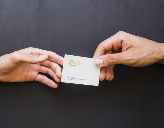 đưa card visit chuyên nghiệp