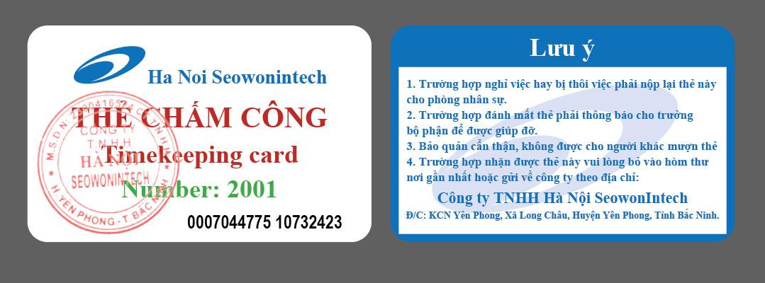mẫu thẻ tên nhân viên dạng dọc