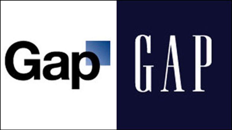 thiết kế logo hãng quần áo GAP