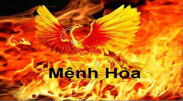 thiết kế logo cho người mệnh hỏa
