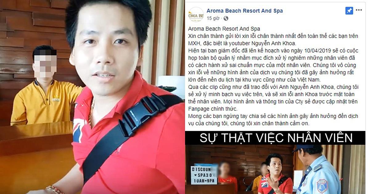 """Chuyên gia lên tiếng về 3 sai lầm """"chết người"""" của Aroma Resort, muốn """"dập lửa"""" phải sa thải toàn bộ nhân sự hôm đó, giám đốc resort xin lỗi cho đến khi khách hàng tha thứ"""