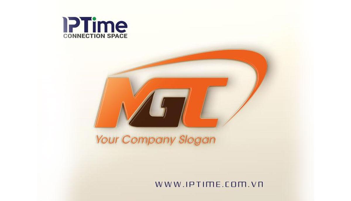 logo nhận diện thương hiệu màu cam