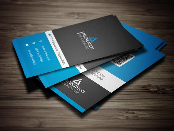 Mẫu thiết kế name card công ty