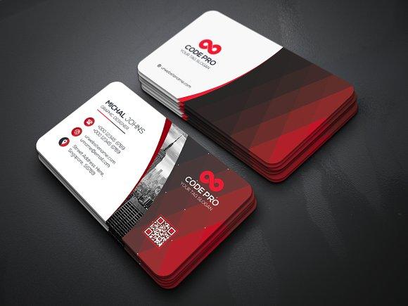 Mẫu name card công ty có bo gốc
