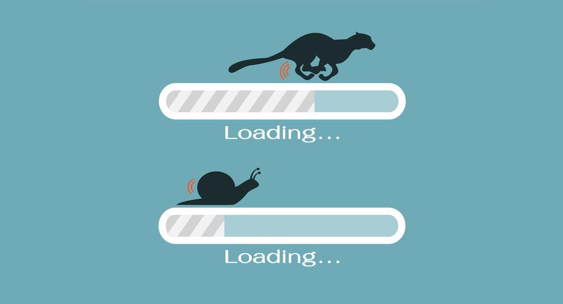 tốc độ tải website doanh nghiệp
